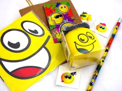 Another Emoji Squeeze Face Party Bag