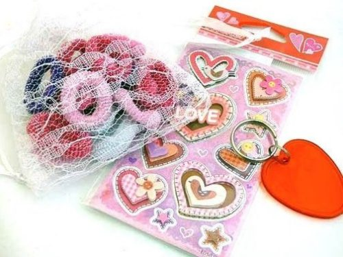 Lacy Love Heart Party Bag