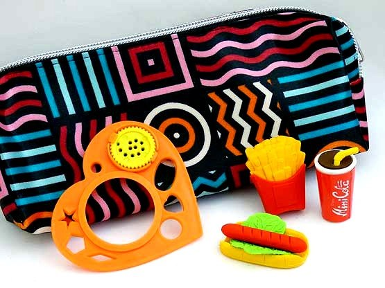 Fast Food Filled Pencil Case