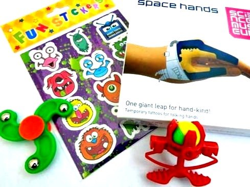 Space Hands Party Bag