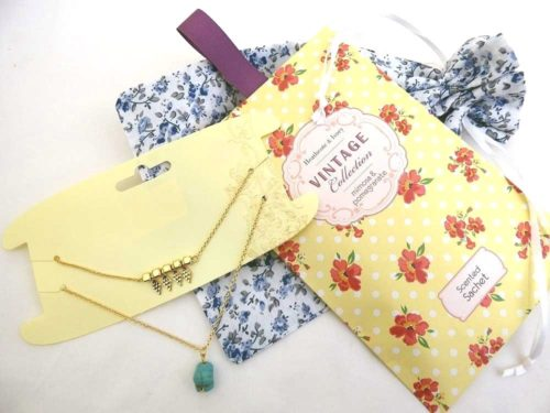 One More Teenage Girls Floral Party Bag