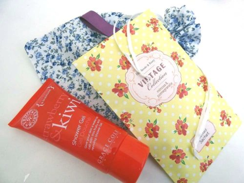 Scented Shower Gel Floral Party Bag
