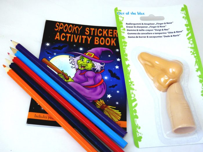 Body Parts Halloween Party Bag