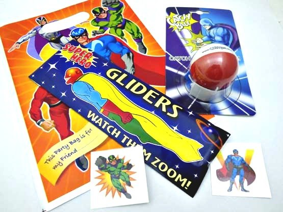 Super Hero Action Party Bag