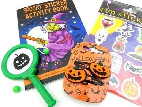 Girls Spooky Halloween Party Bag