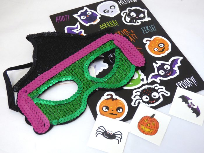 Sequin Halloween Mask Party Bag