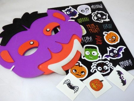 Halloween Mask Party Bag