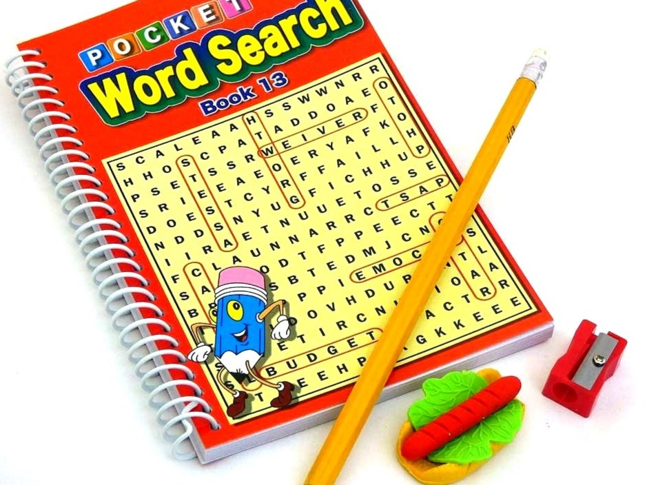 Word Search Party Bag