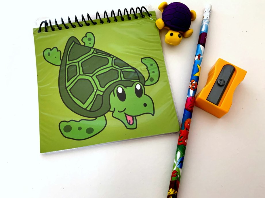 Turtle Stationery Party Bag