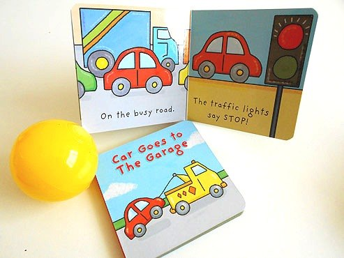Car Books and Ball Party Bag