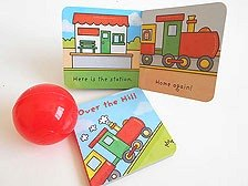 Train Books and Ball Party Bag
