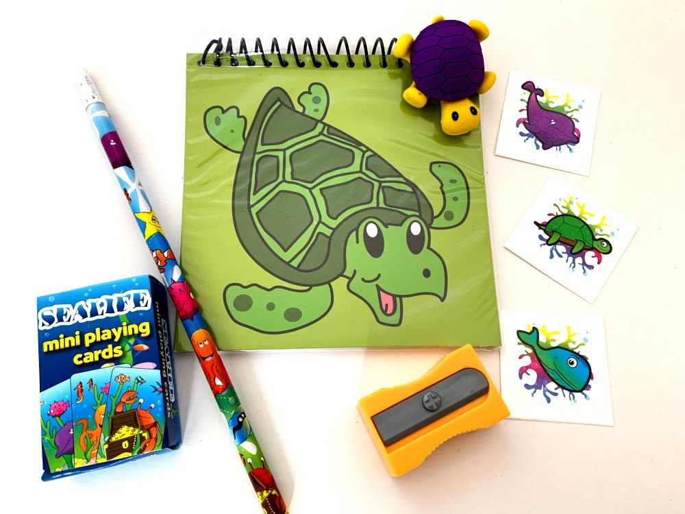 Special Turtle Stationery Party Bag