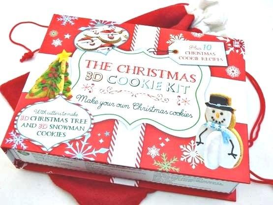 3D Xmas Cookie Kit Santas Sack