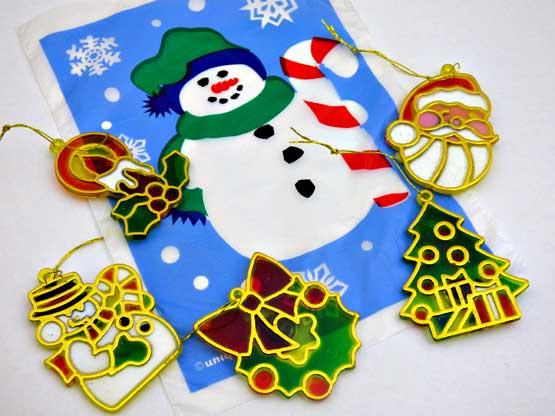 Mini Christmas Treat Bag of Decorations