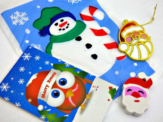 Filled Mini Christmas Treat Bag
