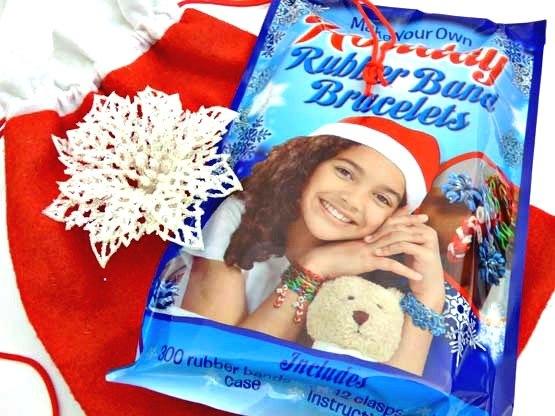 Glow in the Dark Bracelet Kit Christmas Sack