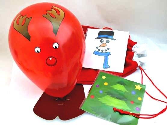Balloon Christmas Character Kits  Party Sack