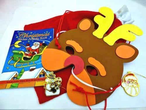Christmas Mask Christmas Sack