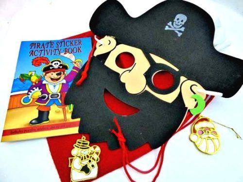 Pirate Mask Christmas Sack