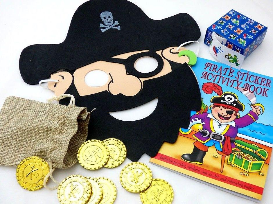 Big Pirate Balloons Party Bag