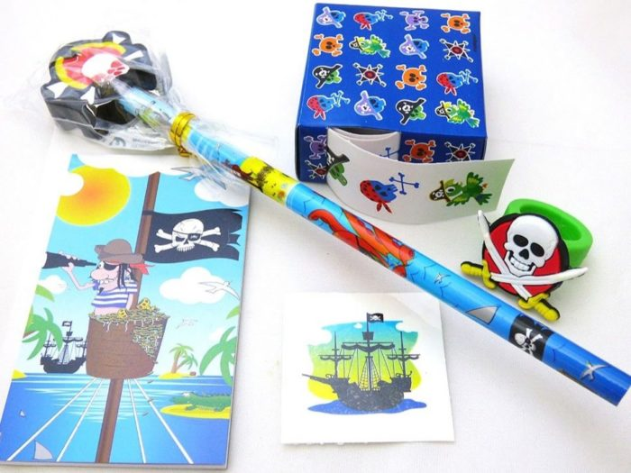 Pirate Stationery Paper Party Bag