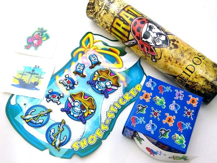 Pirate Kaleidoscope Paper Party Bag