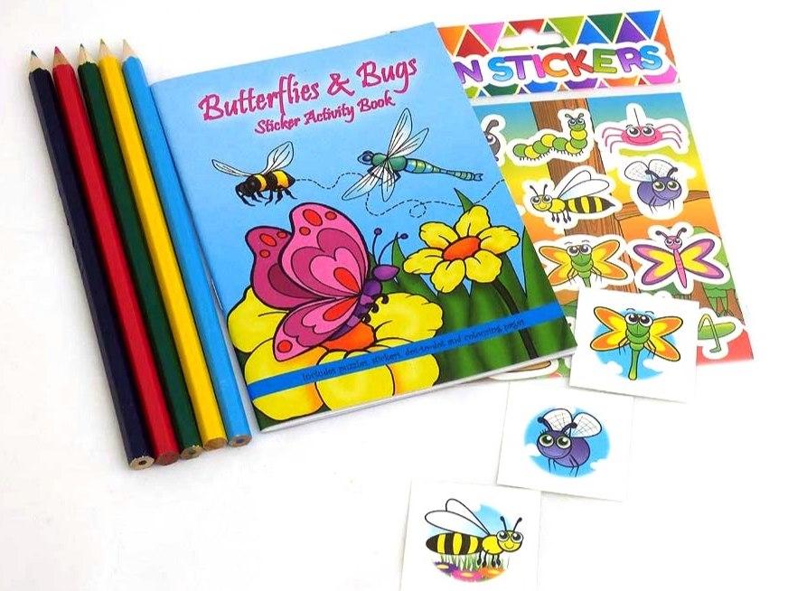 Butterflies & Bugs Sticker Party Bag