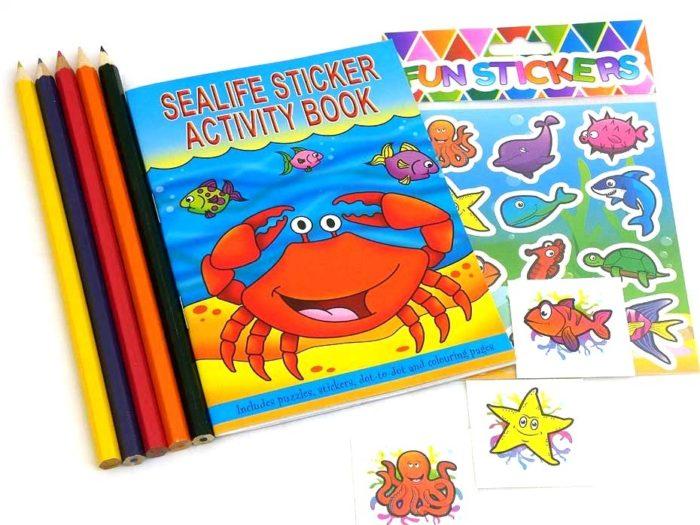 Sealife Sticker Party Bag