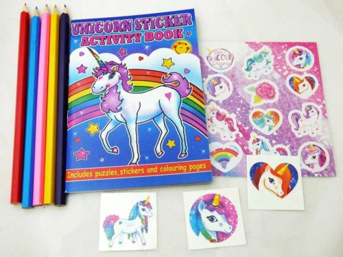 Unicorn Sticker Party Bag