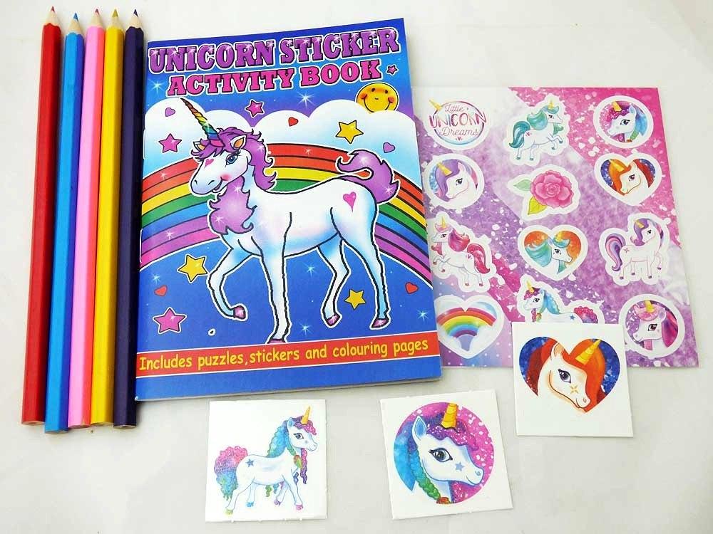 Unicorn Sticker Party Bag