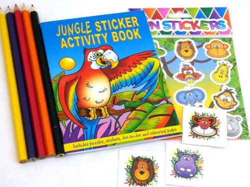 Jungle Sticker Party Bag