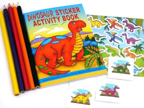 Dinosaur Sticker Party Bag