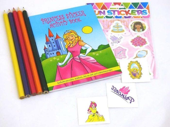 Princess Sticker Party Bag