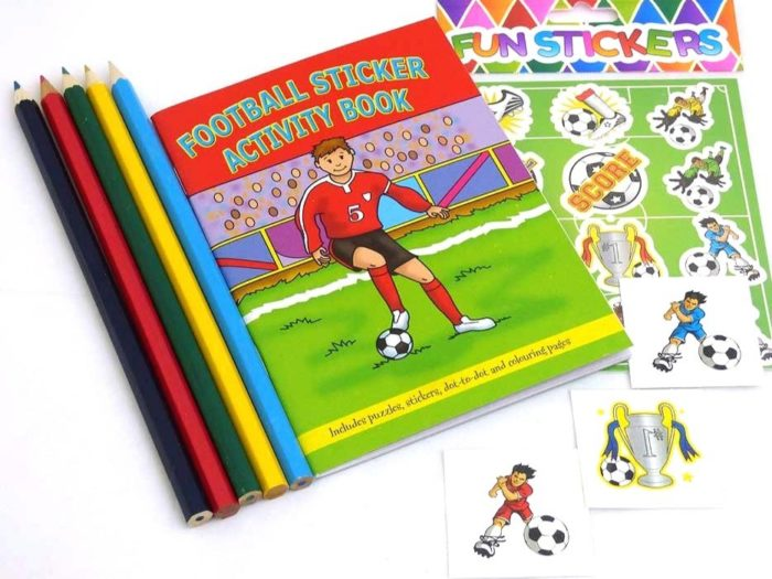 Football Sticker Party Bag