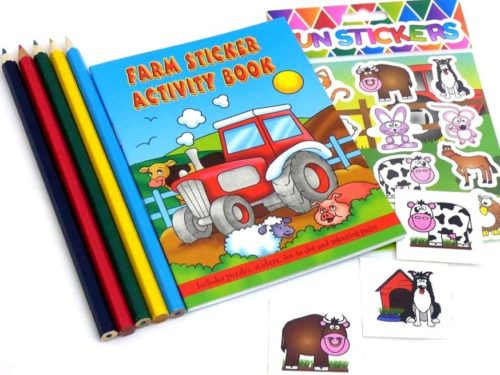 Farm Sticker Party Bag