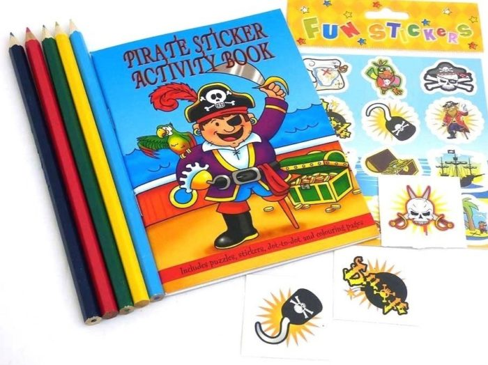 Pirate Sticker Party Bag