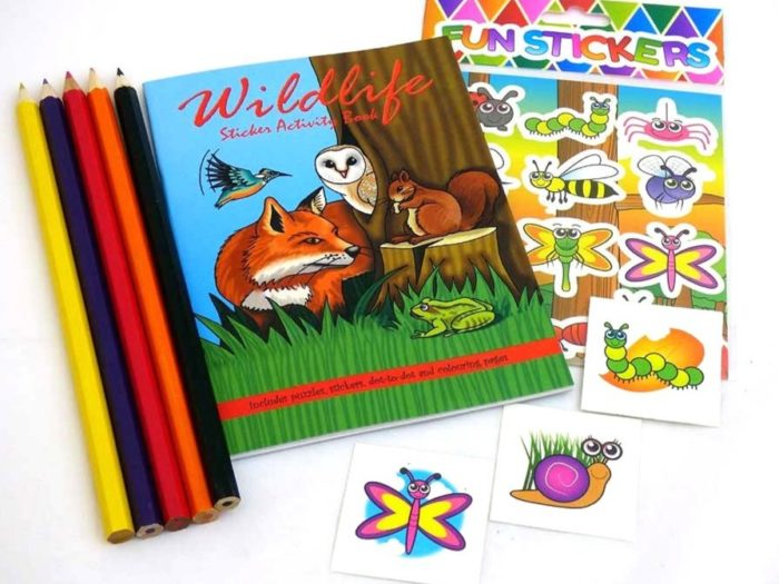 Wildlife Sticker Party Bag