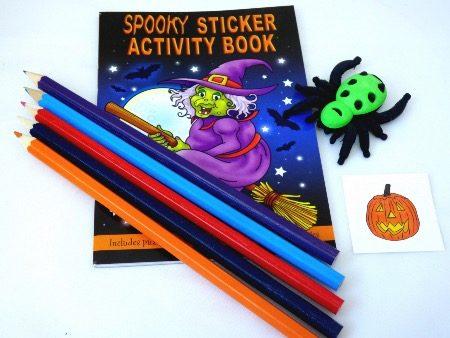 Halloween Sticker Activity Party Bag