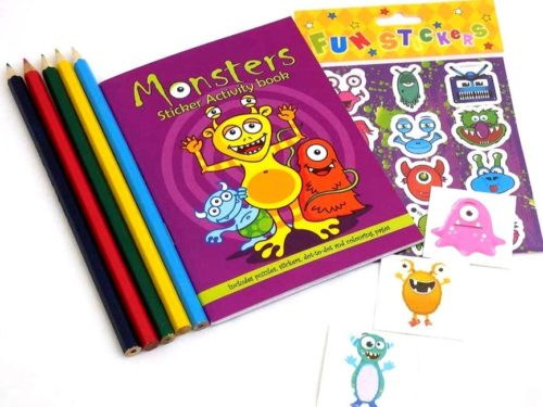 Monster Sticker Party Bag