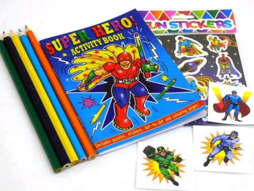 Superhero Sticker Party Bag