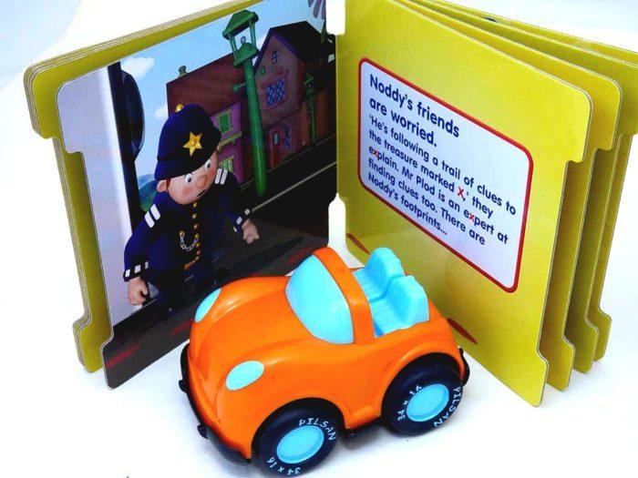 Chubby Car & Noddy Book Party Bag