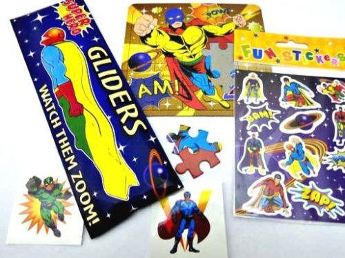 Superhero Party Bag Fillers