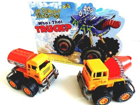 Big Trucks Party Bag