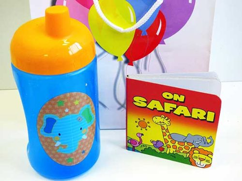 Jungle Pals Sip & Read Boys Party Bag
