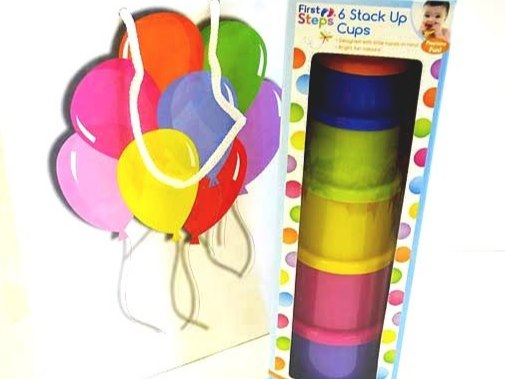 Stack Up Cups Party Bag