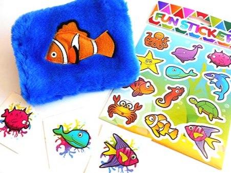 Clare Clown Fish Purse Party Bag