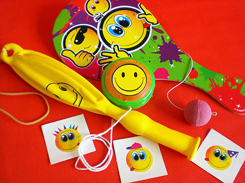 Smiley Bif Bat Party Bag
