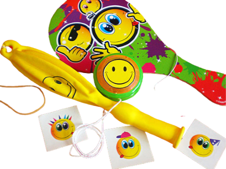 Emoji Filled Party Bag