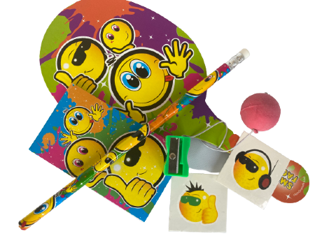Emoji Filled Party Bag