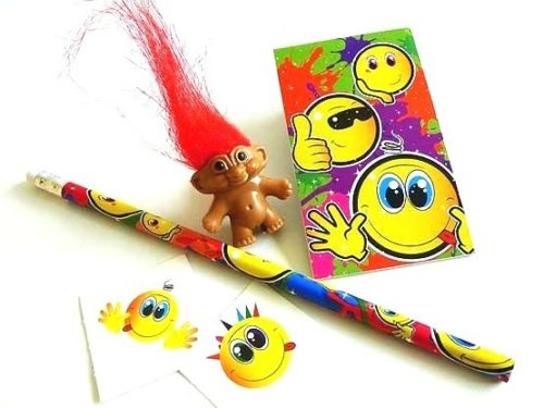 Smiley Troll Party Bag